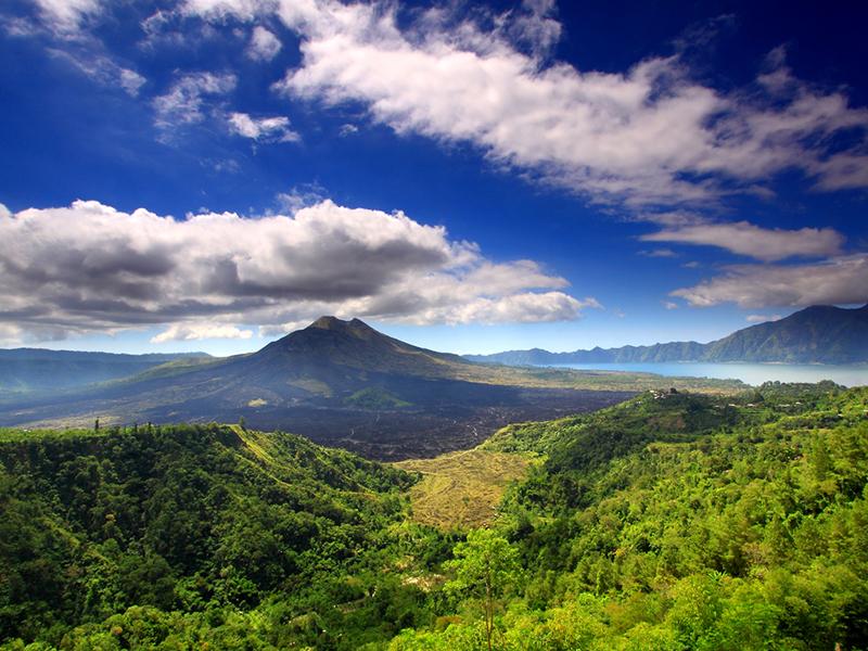 Kintamani Volcano and Lake